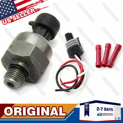 Ford 7.3 7.3L Powerstroke Injection Control Pressure ICP Sensor & Pigtail OEM