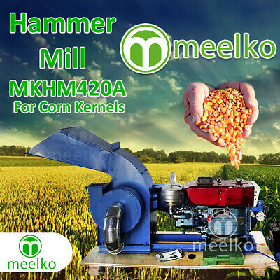 Diesel Hammer Mill for Corn Kernels - MKHM420A - FREE SHIPPING!