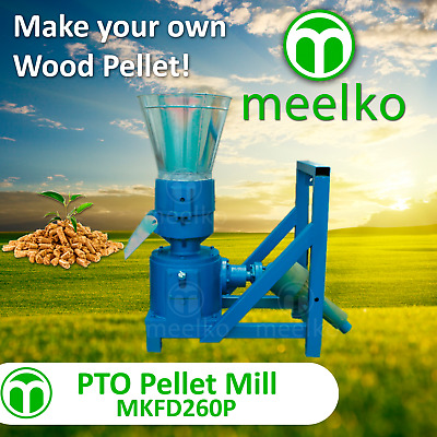 Pto Pellet Mill For Wood - Mkfd260P - Free Shipping