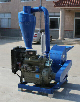 Diesel Hammer Mill for Corn Kernels with Cyclone - MKHM500A - FREE SHIPPING!