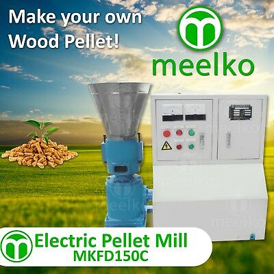 Electric Pellet Mill For Wood - Mkfd150C - Free Shipping