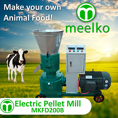Electric Pellet Mill For Cow Food - Mkfd200B - Free Shipping