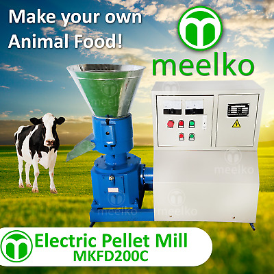 Electric Pellet Mill For Cow Food - Mkfd200C - Free Shipping