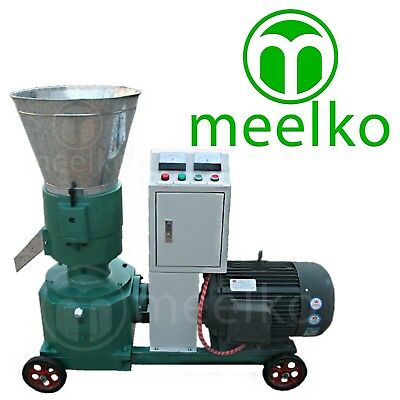 COMBO PELLET MILL 7.5kw 10HP + HAMMER MILL 1,5KW ELECTRIC ENGINE + FREE SHIPPING