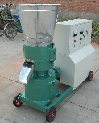 PELLET MILL 22kw  ELECTRIC ENGINE PELLET PRESS 3 PHASE FREE SHIPPING