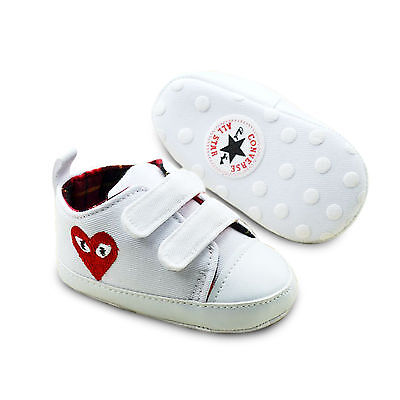 Comme D.G Play x First All star baby Infant trainers soft crib pram shoes 0-18M