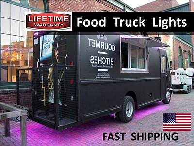Concession Trailer Food Truck Mobile Kitchen & Catering LED Lighting KIT --- HOT