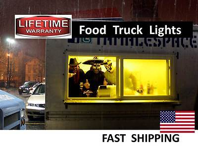 STAINLESS Steel Food Truck LED lighting package --- easy to install 12vDC or AC