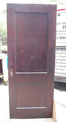 Vintage   Pine 2 Panel Door, Various Sizes Available  Many in Stock-