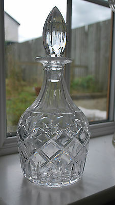 Royal Doulton Signed Decanter -  #314