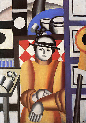 Woman in an Armchair   by Leger Fernand   Giclee Canvas Print Repro