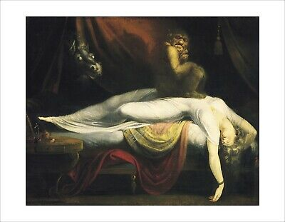 Fuseli - The Nightmare - fine art giclee print poster - various sizes