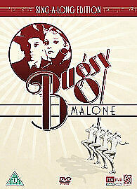 BUGSY MALONE Original + Sing along Version DVD Alan Parker Jodie Foster New