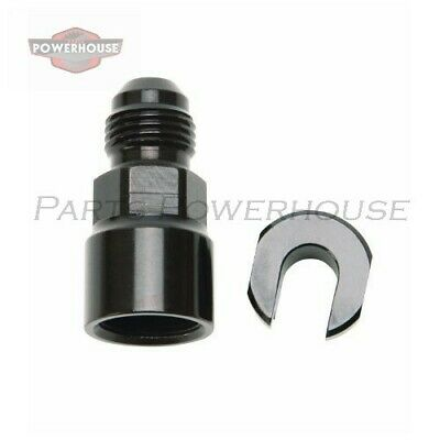 """Russell 644123 Efi Adapter Fitting -6 An Male To 3/8"""" Sae Quick-Disconnect Femal"""