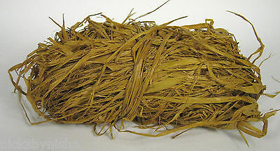 NEW Raffia Yellow 11 Ounce Weaving Crafts Gift Wrapping