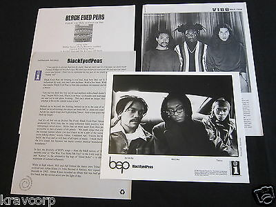Black Eyed Peas 'Behind The Front' 1998 Press Kit--Photo