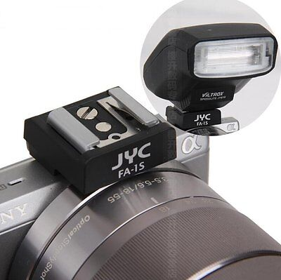 JYC Flash Smart Hot Shoe converter Adapter for Sony NEX-3N 3 C3 F3 5T 5N 5R 5C