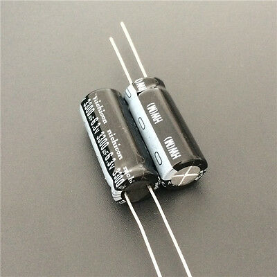 10pcs 3300uF 6.3V 10x25mm Japan Nichicon HW Low Impedance Motherboard Capacitor