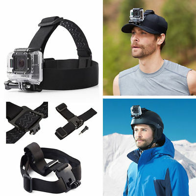 GoPro Accessories Pack Chest Mount Monopod Head Bike Case Surf for Hero 4 3+ 3 2