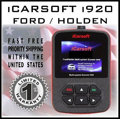 ICARSOFT I920 FORD FOCUS FUSION FIESTA OBD2 ENGINE DIAGNOSTIC CODE TOOL  SCANNER