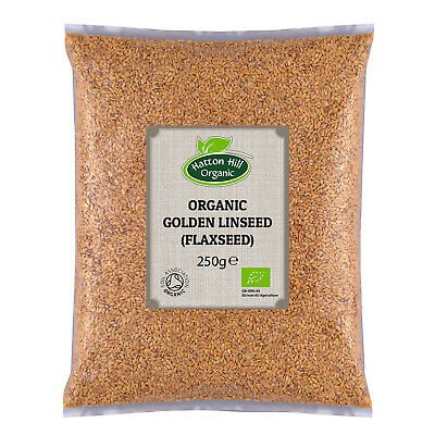 Organic Golden Linseed (Flaxseed) 300g Certified Organic