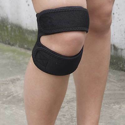 Dual Action Knee Patella Tendon Support Brace Sports Gym Leg Knee Strap Guard