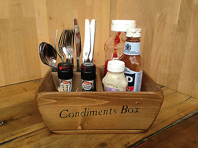 Newquay Condiment & Cutlery Holders/boxes/baskets,Vintage Catering Restaurants