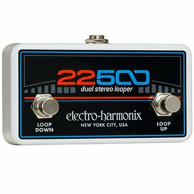 Electro-Harmonix FC22500 Foot Controller 22500 Looper Guitar Effects Pedal EHX