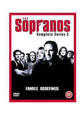 SOPRANOS COMPLETE SERIES 2 DVD Box Set Season Brand New Sealed UK 2nd Second