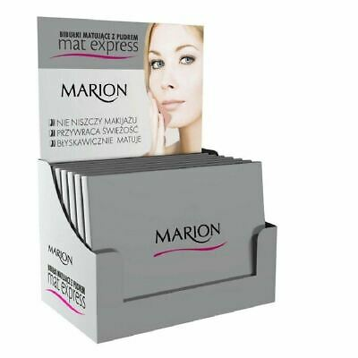 Marion Blotting Paper with Powder Remove Excess Of Sebum 2in1 50 Pcs