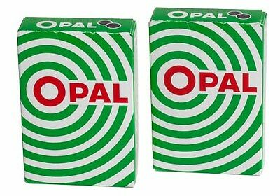 Opal green - Pastilles liquorice flavor candy - 2x 40 grams  made in Iceland