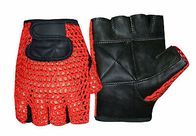 Weight Lifting Padded Fitness Training Body Building Gym Wheelchair Glove