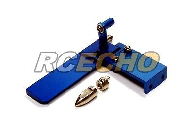 RC Model Ship 75mm Blue Aluminium Cooling R/C Hobby Boat Rudder HR290