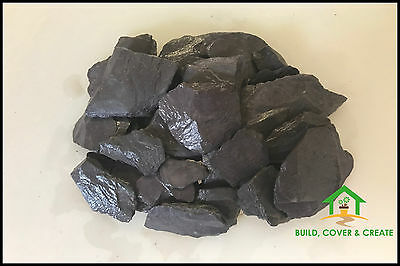 Blue Slate Chippings 40mm for Landscaping & Driveways 900kg Bulk Bags