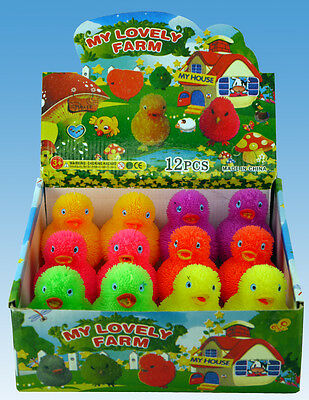 Hgl Cute Flashing Spikey Chick Assorted Bright Colours To Choose From