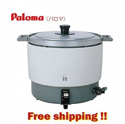 Super Large! Gas Rice Cooker Paloma of Japan MAX 6 liters LPG Business Use