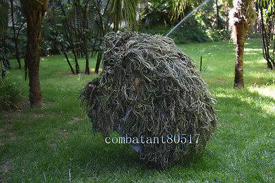 Military Yowie Army Hunting Ghillie Suit 80*90cm Jungle camo Blind Camo Net