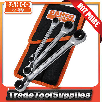 Bahco  Reversible Ratchet Spanner Set 3 Piece   S4RM/3T