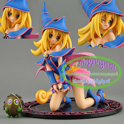 Yu Gi Oh Duel Monsters Dark Magician Girl 1/7 Complete Figure X'mas Gift  Loose