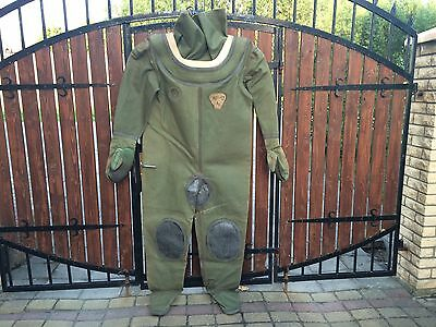 Russian diving suit for 12-bolt diving helmet Not used