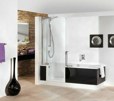 artweger twinline 1 dusch badewanne 170 mit t r mit glasfront kombiwanne eur. Black Bedroom Furniture Sets. Home Design Ideas