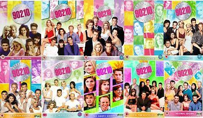 Beverly Hills 90210 Complete Series 1-10 DVD Season 1 2 3 4 5 6 7 8 9 10 NEW R2