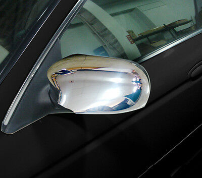 NEW Chrome WING DOOR MIRROR Covers Trims for Jaguar S Type CCX 1998 - 2002