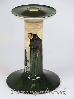 Royal Doulton  Series Ware Candle Stick Monk In The Cellar  Very RARE c1906