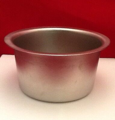 """NEW SURGICAL SPONGE BOWL 6""""x3"""" STAINLESS STEEL"""