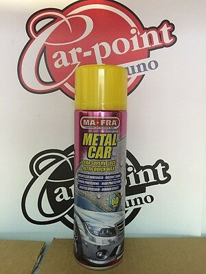 Metal Car Ma-Fra Cera Rapida Spray Carrozzeria Auto Moto