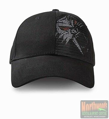 Arctic Cat Cathead Mesh Adjustable Cap Hat - Black 5253-131