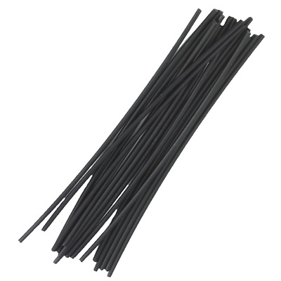 Steinel 110048753 HDPE Plastic Welding Rods, Black, 16 pieces