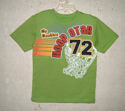 New Garanimals Boys Green Top Sz 12 M