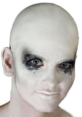 Woochie WHITE Prosthetic Bald Cap, WO105WH, Cinema Secrets
